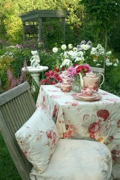 Don't you just want to sit there with a cup of tea?