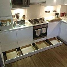 Uplifting Kitchen Remodeling Choosing Your New Kitchen Cabinets Ideas. Delightful Kitchen Remodeling Choosing Your New Kitchen Cabinets Ideas. Diy Kitchen, Kitchen Interior, Kitchen Decor, Awesome Kitchen, Kitchen Corner, Beautiful Kitchen, Smart Kitchen, Kitchen Modern, Hidden Kitchen