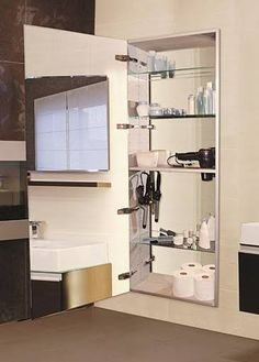 Tall Full Length Hidden Medicine Cabinet