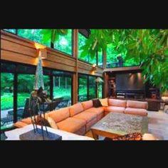 Love a home with big windows!