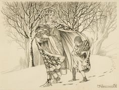 A Polar Bear's Tale:Good King Wenceslas drawn by Horace Knowles
