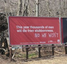 When stubbornness refused to be told what to do. | 22 Times When Vandalism Won