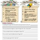 Printables Constitutional Convention Worksheet the great compromise plan proposed at constitutional this simple but excellent worksheet compares key details of virginia and new jersey plans convention aft