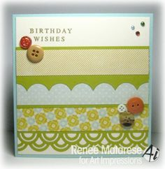 Scrappy Birthday by Renlymat - Cards and Paper Crafts at Splitcoaststampers