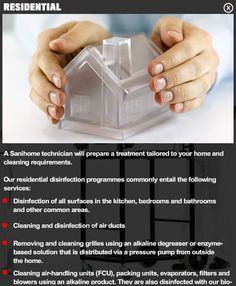 SaniHome Service - Residential AC Duct Cleaning & Disinfection  #Dubai