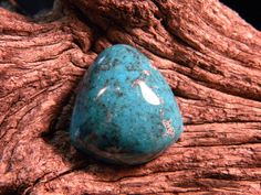 Turquoise High Dome Natural Cab by txrockhound on Etsy, $55.95