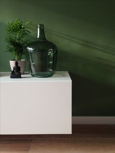 My Living: farrow and ball - calke green and ikea - besta
