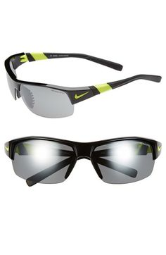 Nike 'Show X2' Semi Rimless 69mm Sunglasses