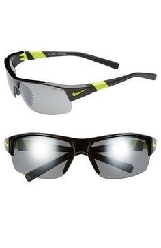 Nike 'Show X2' Semi Rimless 69mm Sunglasses