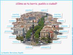 Me encanta escribir en español: el barrio