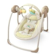 Bright Starts Ingenuity Portable Swing, Bella Vista, (infant swing)