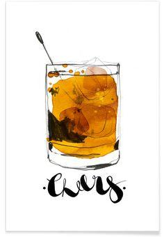 Cheers als Premium Poster von Ekaterina Koroleva | JUNIQE
