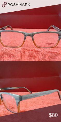 Rickey Smiley eyeglasses New Brown/Orange Rickey Smiley  Accessories Glasses