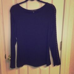 Cynthia Steffe black blouse Black long sleeve Cynthia Steffe blouse size small. This is a great blouse however was used but I would take this blouse to the cleaners and they made a light white spot were I look the last photo. You can hardly see the mark but the blouse is still in great shape. Tops Blouses