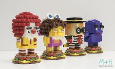I'd like a Happy Meal, and some Brickheadz to go