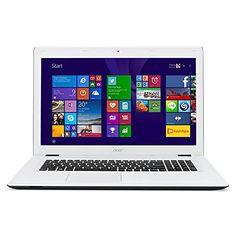 "Acer Aspire E5-573-56XH - Portátil de 15.6"" FullHD (Intel Core i5 5200U, 8 GB de RAM, Disco HDD de 1 TB, Windows 8 Actualizable gratuitamente a Windows 10), negro y blanco -Teclado QWERTY Español Acer"