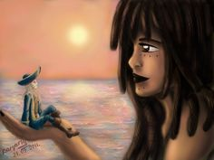 Davy Jones and Calypso by 247950 on DeviantArt Davy Jones And Calypso, Davy Jones' Locker, Flying Dutchman, Pirates Of The Caribbean, Fan Art, Disney Princess, Romance, Fictional Characters, Movies