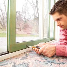 Sliding patio doors get sticky and hard to open when the wheels go out of adjustment or the track gets too dirty. Here's where to adjust them and how to clean or replace the wheels.