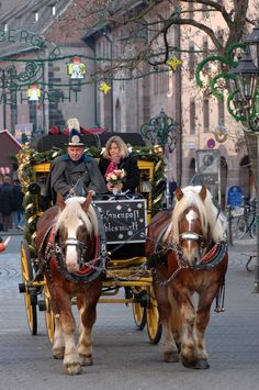 Nürnberger Christkindlesmarkt (Nuremberg Christmas Market) -- Nuremberg, Bavaria, Germany. (I was there in 2014!!!)