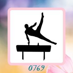 A personal favorite from my Etsy shop https://www.etsy.com/listing/223193799/gymnast-silhouette-reusable-craft