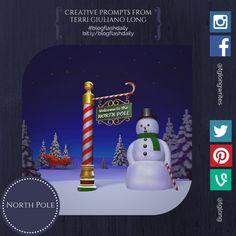#BlogFlashDaily Writing Prompt: North Pole #creativity #writingprompt
