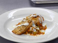 Coriander and Mustard Seed Crusted Salmon Recipe : Robert Irvine : Food Network - FoodNetwork.com