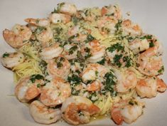 This doesn't have to be made in the crock pot. It's a quick stove top dinner too. Crock Pot Shrimp Scampi