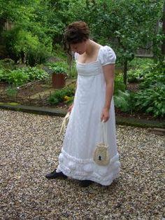Kleidung um 1800: 1815 Robe de Perkale oder Wo bitte gehts zum Ball?