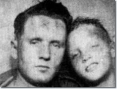 9- Elvis Presley and his Father