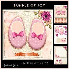 Bundle of joy cardtopper 880 on Craftsuprint - View Now!