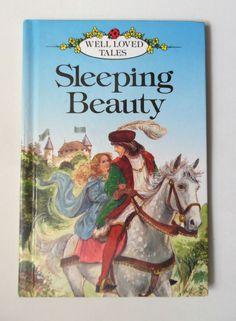 LADYBIRD BOOK SLEEPING BEAUTY SERIES 606D WELL LOVED TALES HB BOOK 1990