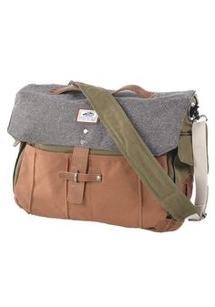 dbb4cca5e2d3 VANS Lassen Messenger Bag - Rucksack für Herren - Grün