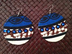 Hey, I found this really awesome Etsy listing at https://www.etsy.com/listing/183683531/upcycled-ankara-print-round-earrings