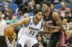 NBA: Towns anota 14 puntos y 14 rebotes y Minnesota Timberwolves derrota al Heat de Miami