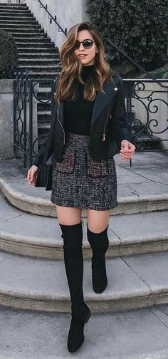 45 Lovely Winter Outfits to Own Now Vol. 1 45 Lovely Winter Outfits to Own Now Vol. 1 / Lovely Winter Outfits you must Own – Lovely Winter Outfits to Own Now Vol. 2 – Lil lY 45 Lovely Winter Outfits to Own Now Vol. Cozy Winter Outfits, Winter Fashion Outfits, Night Outfits, Dance Outfits, Fall Outfits, Autumn Fashion, Casual Outfits, Skirt Outfits, Fashion Boots