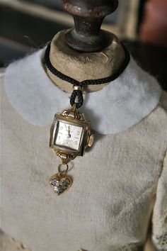 ladies watch necklace