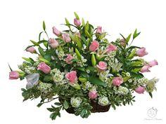 Flowers and Blossoms Casket Sprays, Sympathy Flowers, Funeral Flowers, Floral Wreath, Wreaths, Blossoms, Plants, Decor, Flowers