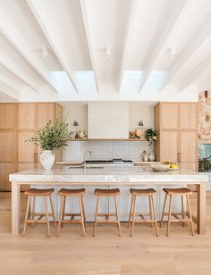 Kyal and Kara Dining Area, Kitchen Dining, Kitchen Stools, Kyal And Kara, Kitchen Trends, Kitchen Ideas, Open Plan Kitchen, Open Plan Living, Cool Kitchens