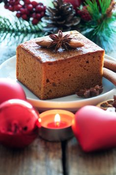 Honigkuchen zur Advents- und Weihnachtszeit | honey cake for Advent and Christmas