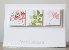 Stampin' Up! Summer Silhouettes - Happy Stampin'