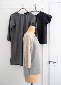 Рубашка сшитая рубашка Ranlan, туника + платье в Лана Котта Канберра |  Purl Soho
