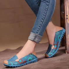 Cheap Loafers, Buy Directly from China Suppliers:  Welcome to our store2014 spring and Autumn Women genuine leather flats lazy soft leather shoes women's