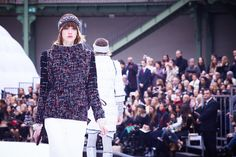 Chanel Leaves Earth Behind at Paris Fashion Week With an Actual Rocket Launch Photos | W Magazine
