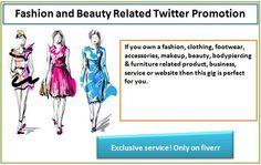 I will do #fashion and #beauty Related #TwitterPromotion With My Niche Followers for $5