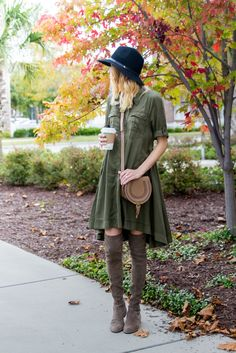 Little Blonde Book by Taylor Morgan | A Life and Style Blog : Military Swing Dress