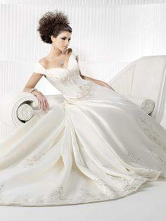 Ball Gown Off-the-shoulder Wedding Dress
