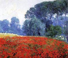 Foto: Poppy Field - Guy Orlando Rose (1910)