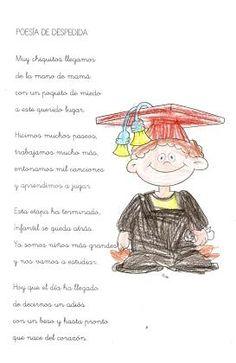 Resultado de imagen de poesias de graduación infantil