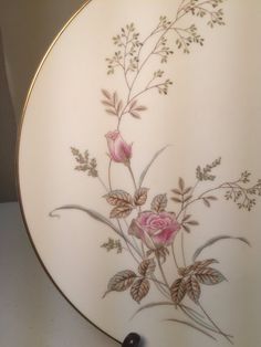 """Items similar to Noritake """"Luise"""" Dinner Plate on Etsy Noritake, Dinner Plates, Delicate, Display, Tableware, Pattern, Pink, Etsy, Color"""