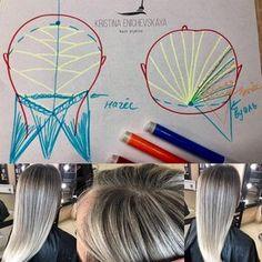 90 отметок «Нравится», 9 комментариев — Hairstylist/coloristKristina (@enichevskaya_hair) в Instagram: «Коллеги, давно не выкладывала ничего интересного ) Но к празднику порадую вас схемой шикарнейшей )…»